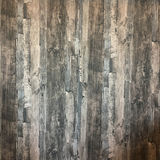 The walls and floors are wood Royalty Free Stock Photo