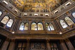 Walls of Florence Baptistery San Giovanni Stock Photo