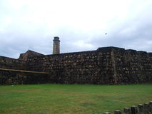 Walls of the Fort Galle. Sri Lanka Royalty Free Stock Images