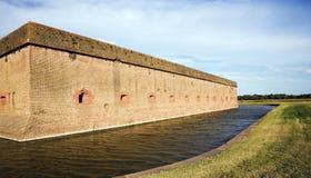 Walls of Fort Pulaski Stock Images