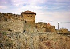 Walls of Fortress Akkerman in Ukraine Royalty Free Stock Photo