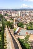 Walls of Girona Royalty Free Stock Image