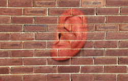 Walls Have Ears Royalty Free Stock Photo
