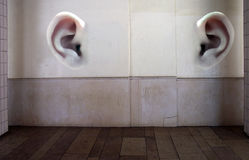 image photo : Walls have ears
