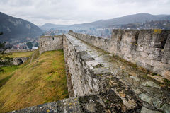 Walls of the historical fortress Stock Photo
