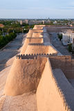 Walls of Ichan Kala. Walls of an Ancient City Of Ichan Kala, Khiva Royalty Free Stock Photo