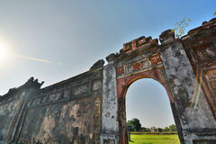 Walls. Imperial City. Hué. Vietnam Stock Images