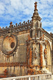 The walls, intricately decorated with turrets Royalty Free Stock Photo