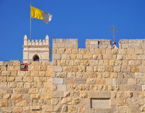 Walls of Jerusalem. Royalty Free Stock Photography