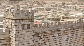 The Walls of Jerusalem Royalty Free Stock Photos