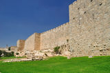 Walls of Jerusalem. Royalty Free Stock Image