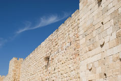 Walls of Jerusalem Stock Photo