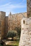 Walls of Jerusalem Royalty Free Stock Photography