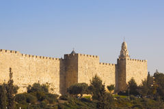 Walls of Jerusalem Royalty Free Stock Photo