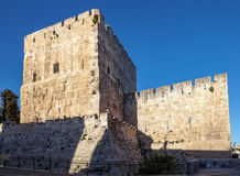 Walls of Jerusalem Stock Photography