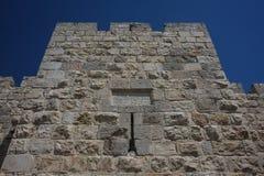 Walls of Jerusalem, Israel. Fragment of walls surrounding old city of Jerusalem, Israel Stock Photography