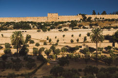 Walls of Jerusalem, Israel Royalty Free Stock Photos