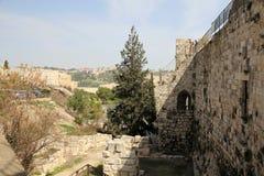 Walls of Jerusalem Royalty Free Stock Images