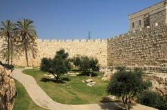 Walls of Jerusalem Stock Image