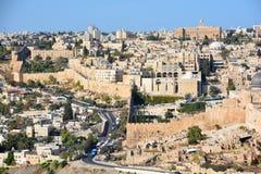 Walls of Jerusalem Stock Photography