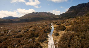 Walls of Jerusalem in Tasmania (Australia) Stock Photos