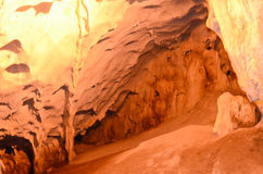Walls of the Karain Cave. Royalty Free Stock Photography