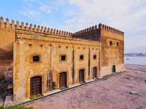 Walls of Kasbah of the Udayas in Rabat, Morocco Stock Image