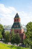 The walls of the Kremlin in Moscow. Stock Photo