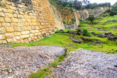 Walls of Kuelap, Peru Royalty Free Stock Photos