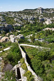 The Walls of Les Baux Royalty Free Stock Photos