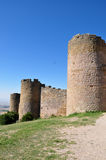 Walls of Loarre Castle Royalty Free Stock Image