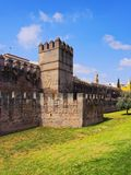 Walls of Macarana in Seville, Spain Royalty Free Stock Photo