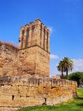 Walls of Macarana in Seville, Spain Royalty Free Stock Images