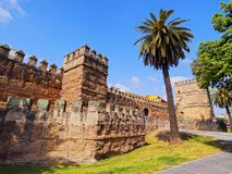 Walls of Macarana in Seville, Spain Stock Photography