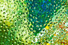 Walls made ​​of glass Stock Images