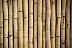 Walls are made of bamboo Stock Photo