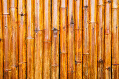 Walls made of bamboo stalks. Royalty Free Stock Image