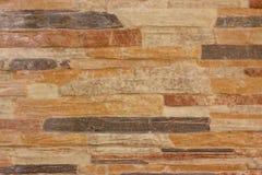 Walls made of brick orange Stock Image