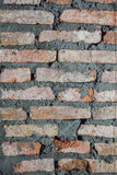 Walls are made of brick. Under construction Royalty Free Stock Photo