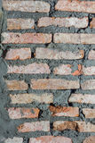 Walls are made of brick Royalty Free Stock Photos