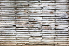 Walls made of light wood, white and gray. Stock Images