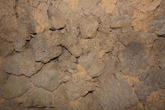 Walls made of stone Royalty Free Stock Image