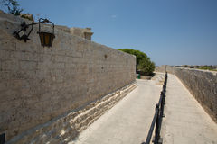 Walls in Malta Stock Images