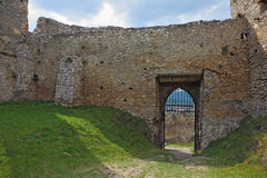 The walls of the medieval citadel Stock Images