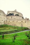 Walls of a medieval fortress Stock Photography