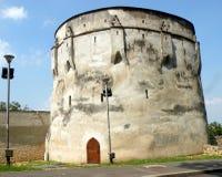 Walls of  the medieval town Brasov (Kronstadt), Transilvania, Romania Royalty Free Stock Photos