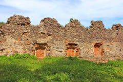 Walls of medieval Uzhhorod Castle, Ukraine Stock Image