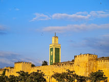 Walls of Meknes, Morocco Stock Photos