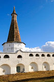 The walls of monastery Royalty Free Stock Images
