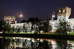 Walls of Novodevichy Convent Royalty Free Stock Images